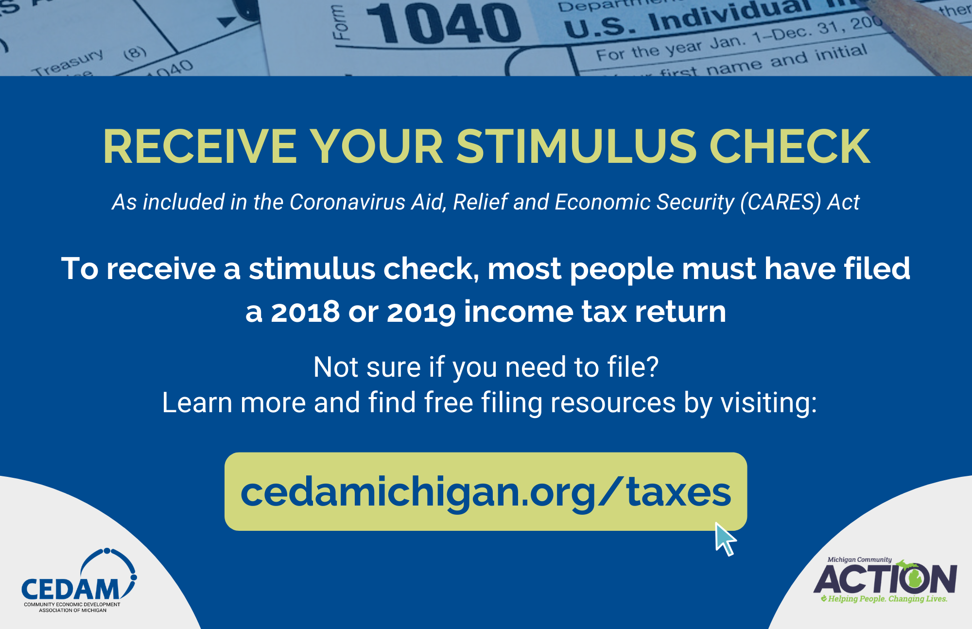 MCA Stimulus Checks CEDAM
