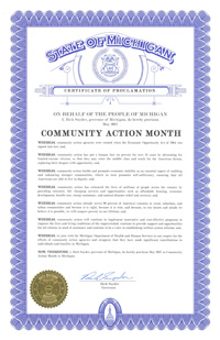 2017 Community Action Month
