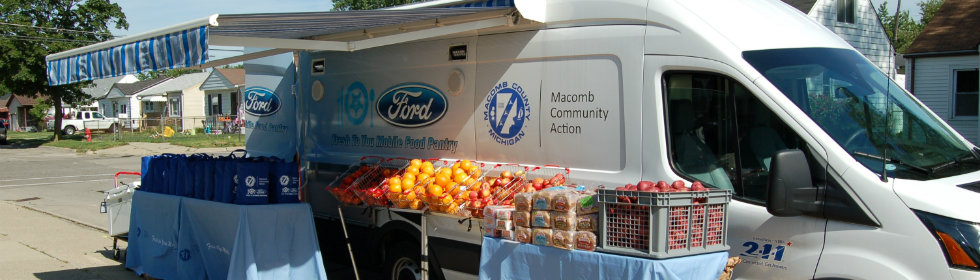 Macomb Community Action Food Truck